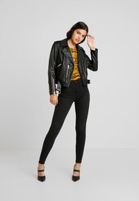 Gina Tricot - MOLLY HIGHWAIST - Jeans Skinny Fit - off black - 1