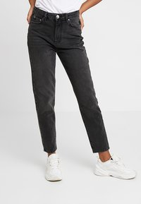 Gina Tricot - MOM ORIGINAL  - Jean boyfriend - black - 0