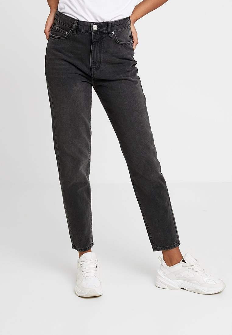 Gina Tricot - MOM ORIGINAL  - Jean boyfriend - black