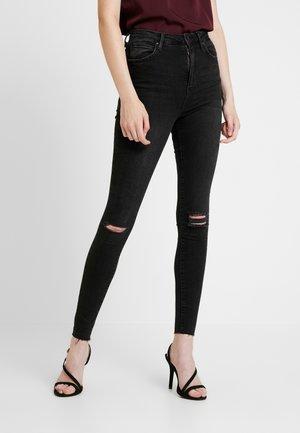 Jeans Skinny Fit - black/grey dest