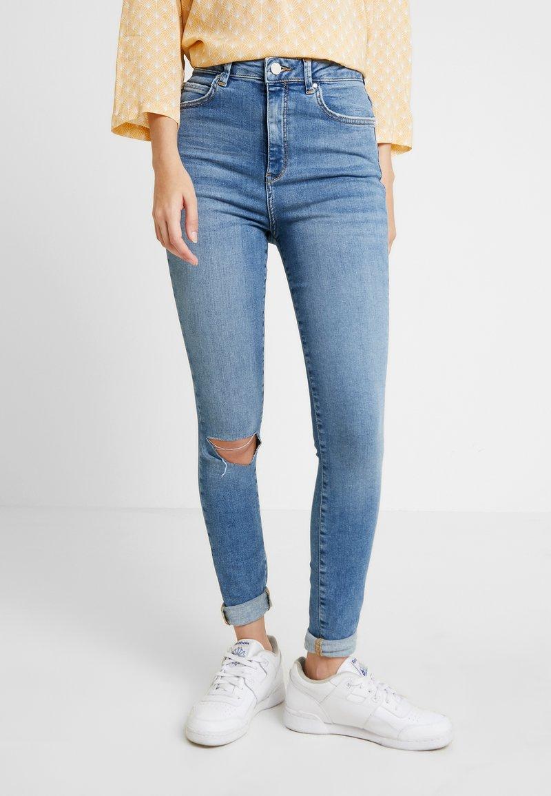 Gina Tricot - Skinny džíny - mid blue