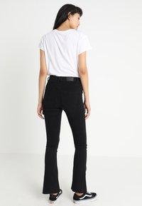 Gina Tricot - Jeans a zampa - black - 3