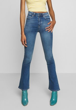 NATASHA - Jeans bootcut - river blue