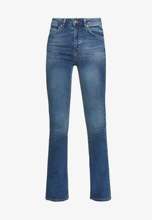 NATASHA - Bootcut jeans - river blue