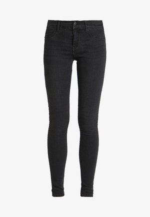LOW WAIST SUPERSTRETCH - Jeans Skinny Fit - black/grey