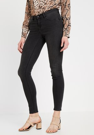 LOW WAIST SUPERSTRETCH - Jeans Skinny Fit - black/grey