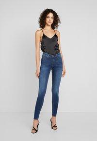 Gina Tricot - BONNIE - Jeans Skinny Fit - dark blue - 0