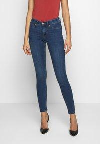 Gina Tricot - BONNIE - Jeans Skinny Fit - dark blue denim - 0