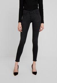 Gina Tricot - BONNIE - Jeans Skinny Fit - black/grey - 0