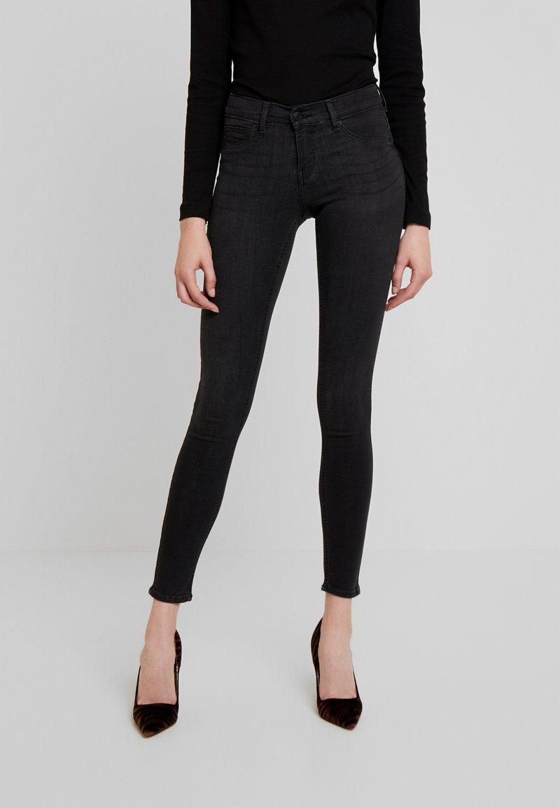 Gina Tricot - BONNIE - Jeans Skinny Fit - black/grey