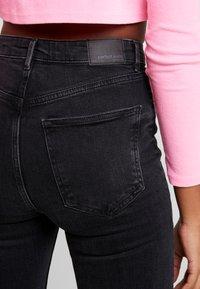 Gina Tricot - Jeans Skinny Fit - black/grey - 5
