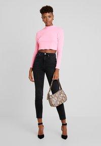 Gina Tricot - Jeans Skinny Fit - black/grey - 1
