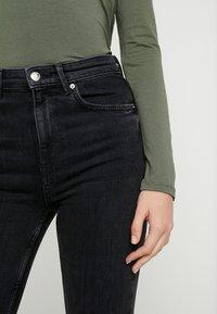 Gina Tricot - Skinny džíny - black/grey - 3
