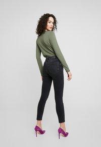 Gina Tricot - Skinny džíny - black/grey - 2