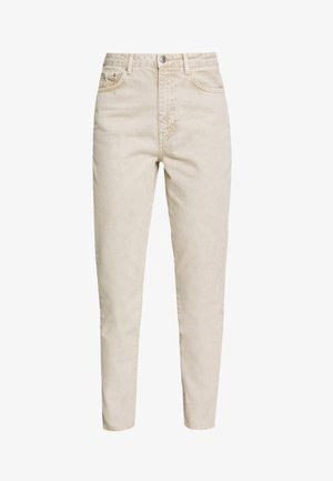 DAGNY MOM - Jean slim - vintage beige