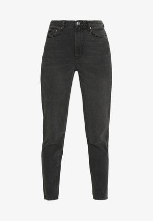 DAGNY HIGHWAIST - Jeans Tapered Fit - black grey