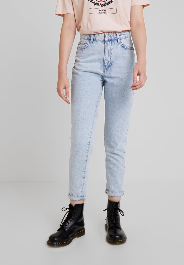 DAGNY HIGHWAIST - Jeans Tapered Fit - light blue snow