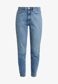 Gina Tricot - DAGNY HIGHWAIST - Jeans Tapered Fit - mid blue - 3