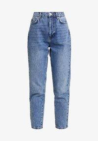 Gina Tricot - DAGNY MOM - Jeans Slim Fit - blue snow - 3