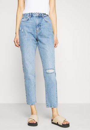 DAGNY HIGHWAIST - Jeans Tapered Fit - blue