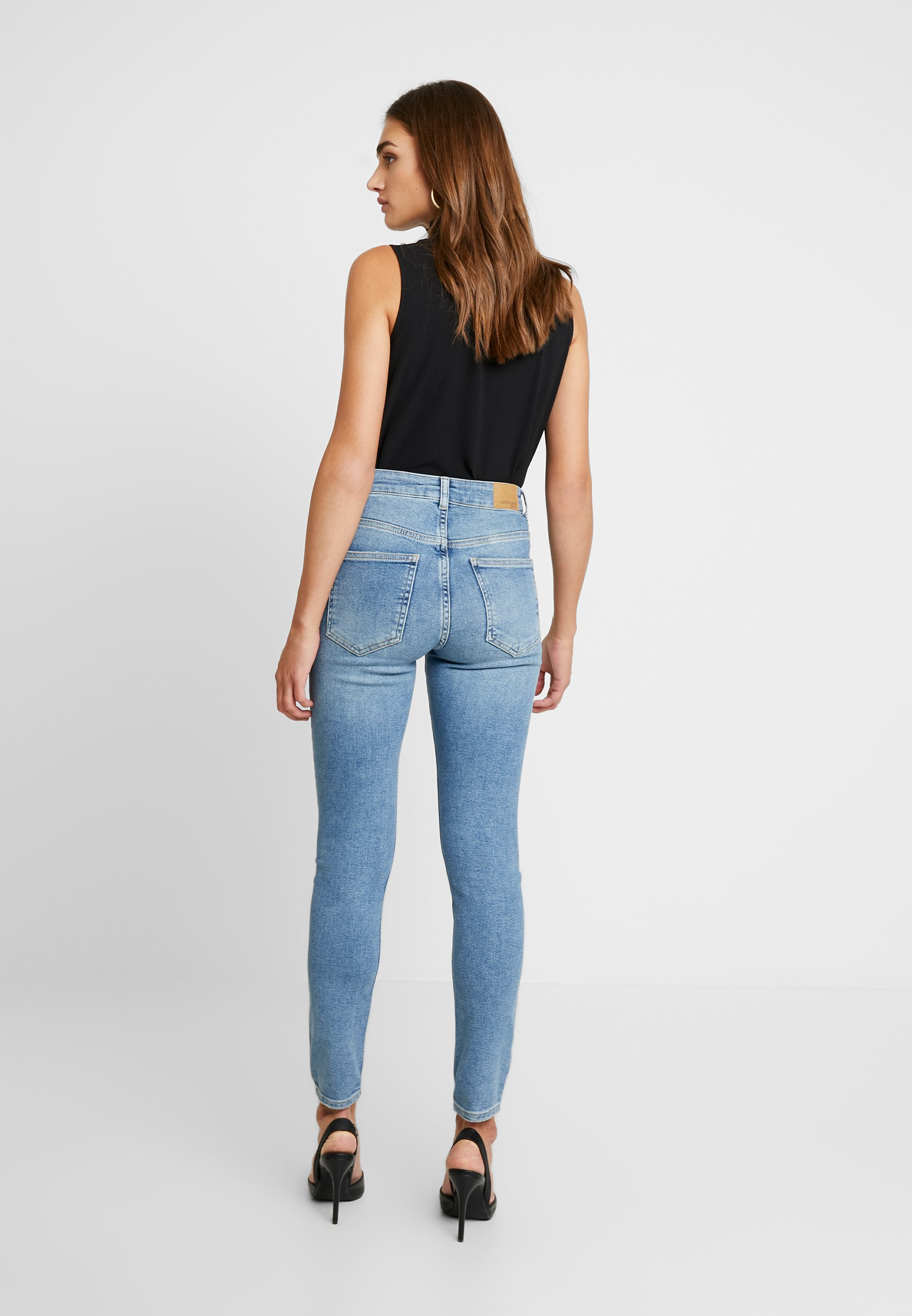 Gina Tricot HEDDA ORIGINAL - Jeans Skinny Fit mid blue