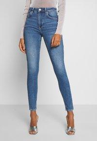 Gina Tricot - HEDDA ORIGINAL - Jeans Skinny Fit - dk midblue - 0