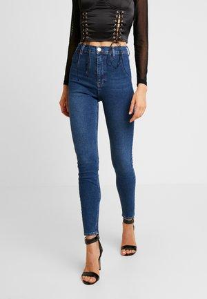ROYA HIGHWAIST - Jeans Skinny Fit - blue