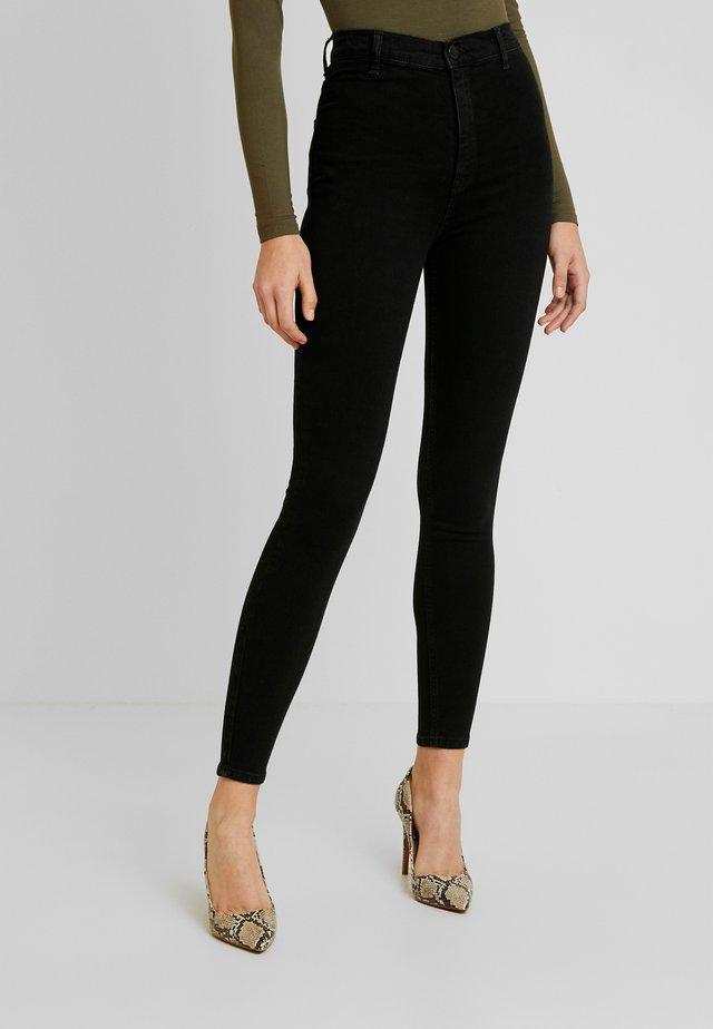 ROYA HIGHWAIST - Jeans Skinny Fit - black