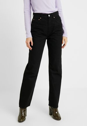 THE 90'S HIWAIST - Relaxed fit jeans - black