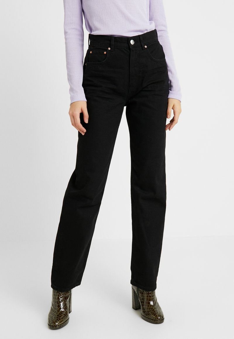 Gina Tricot - THE 90'S HIWAIST - Džíny Relaxed Fit - black