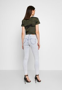 Gina Tricot - MOLLY HIGHWAIST - Jeans Skinny Fit - blue snow - 2