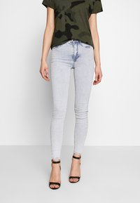 Gina Tricot - MOLLY HIGHWAIST - Jeans Skinny Fit - blue snow - 0