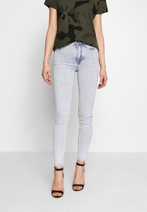 MOLLY HIGHWAIST - Jeans Skinny - blue snow