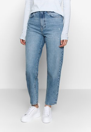 RELAXED - Relaxed fit jeans - mid blue