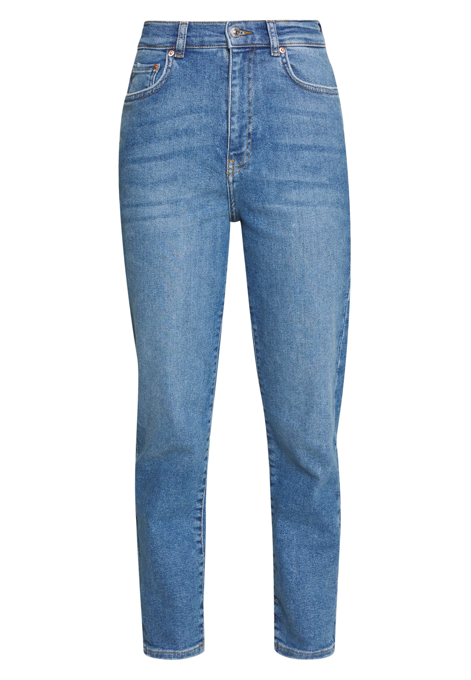 Gina Tricot Comfy Mom - Jeans Baggy Blue R4wDj