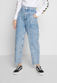 Gina Tricot - MERVE SLOUCHY  - Jeansy Relaxed Fit - blue snow - 0