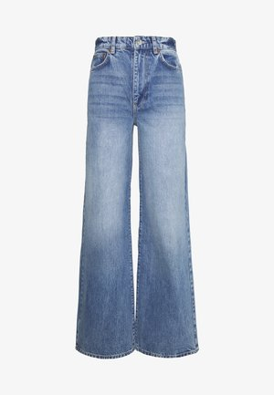 IDUN WIDE - Jeans relaxed fit - mid blue