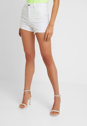 MOLLY - Denim shorts - offwhite