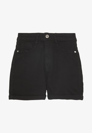 MOLLY - Farkkushortsit - black