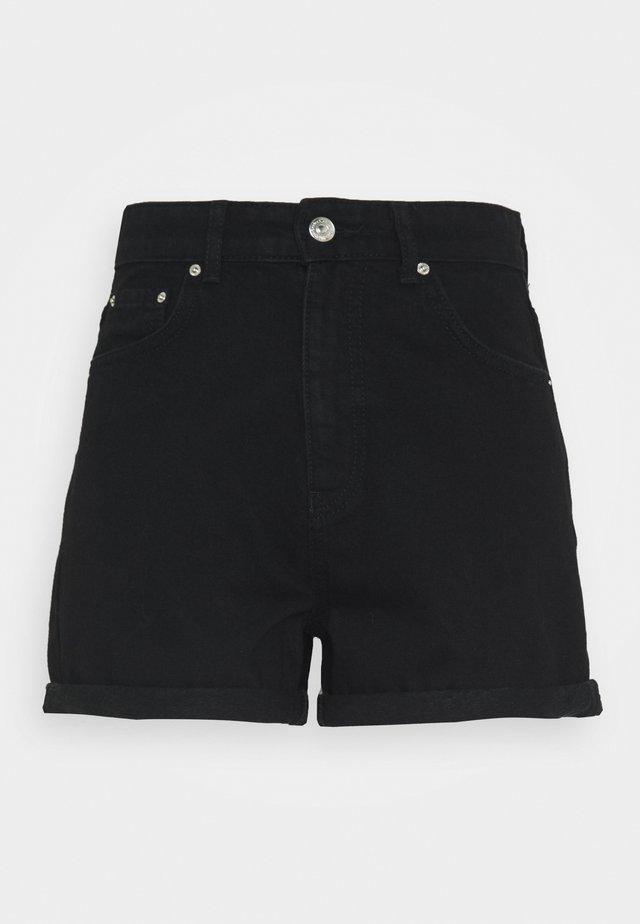 DAGNY MOM SHORTS - Shorts - black