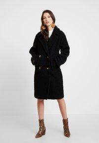 Gina Tricot - Zimní kabát - black - 0