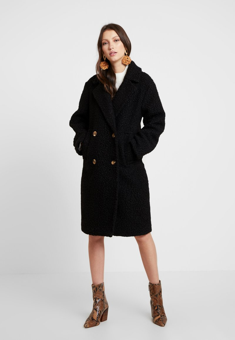 Gina Tricot - Zimní kabát - black