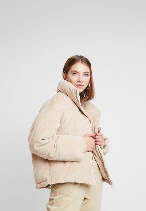 ROSE PUFFER - Zimní bunda - beige