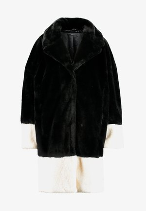 EVERLYN COAT - Manteau classique - black/white