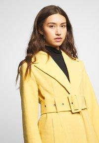Gina Tricot - AVA BELTED COAT - Classic coat - rattan - 4