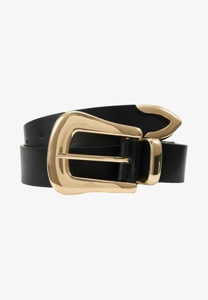 BEVERLY BELT - Cinturón - black/gold