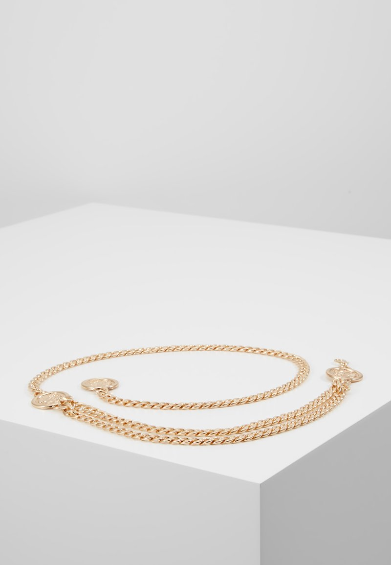 Gina Tricot - SIMA CHAIN BELT JULI - Midjeskärp - gold-coloured