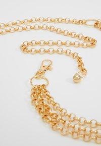 Gina Tricot - JANE CHAIN BELT JULI - Tailleriem - gold-coloured - 4