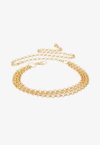 Gina Tricot - JANE CHAIN BELT JULI - Tailleriem - gold-coloured - 3