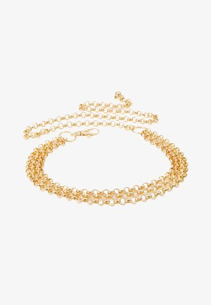 JANE CHAIN BELT JULI - Midjebelte - gold-coloured